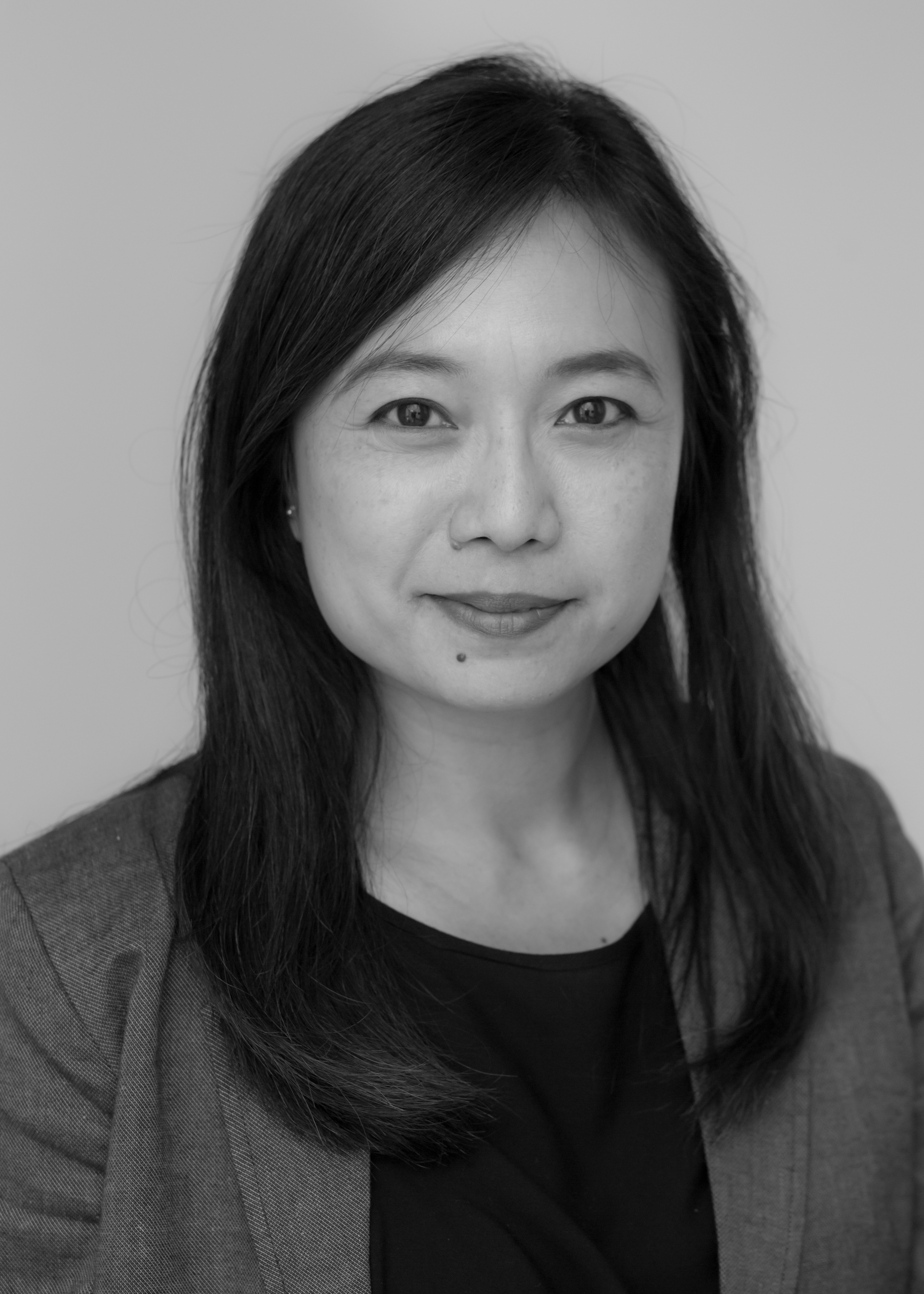A black and white image of Claudia Mah, Investment Analyst at Ethical Investment Services.